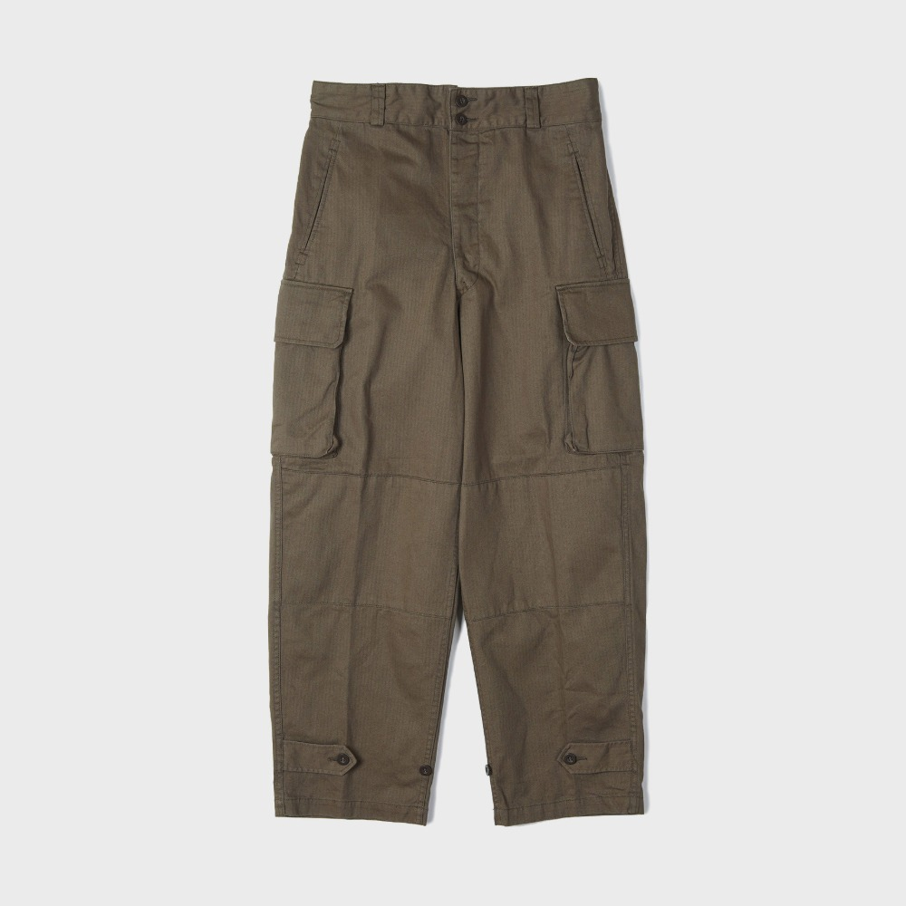 French Military M47 Field Pants - Olive