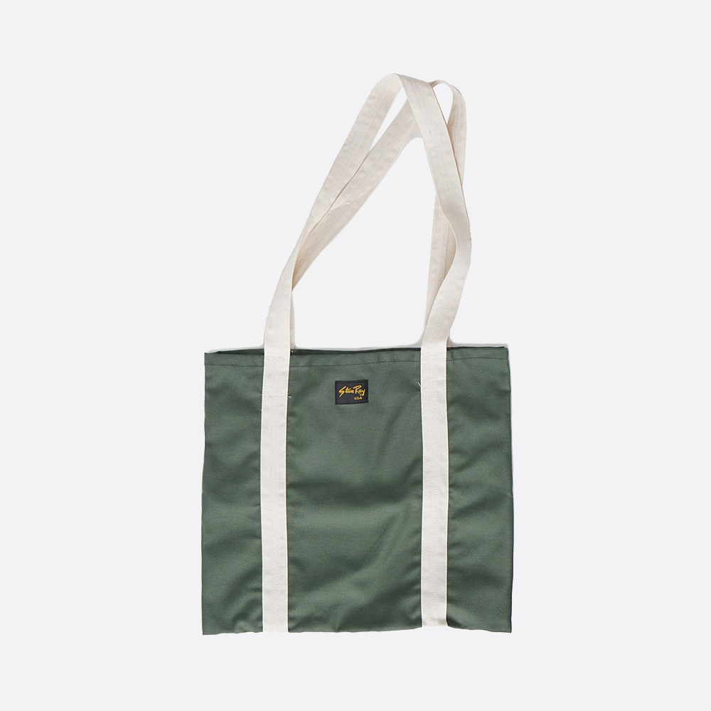 Tote Bag - Olive Sateen
