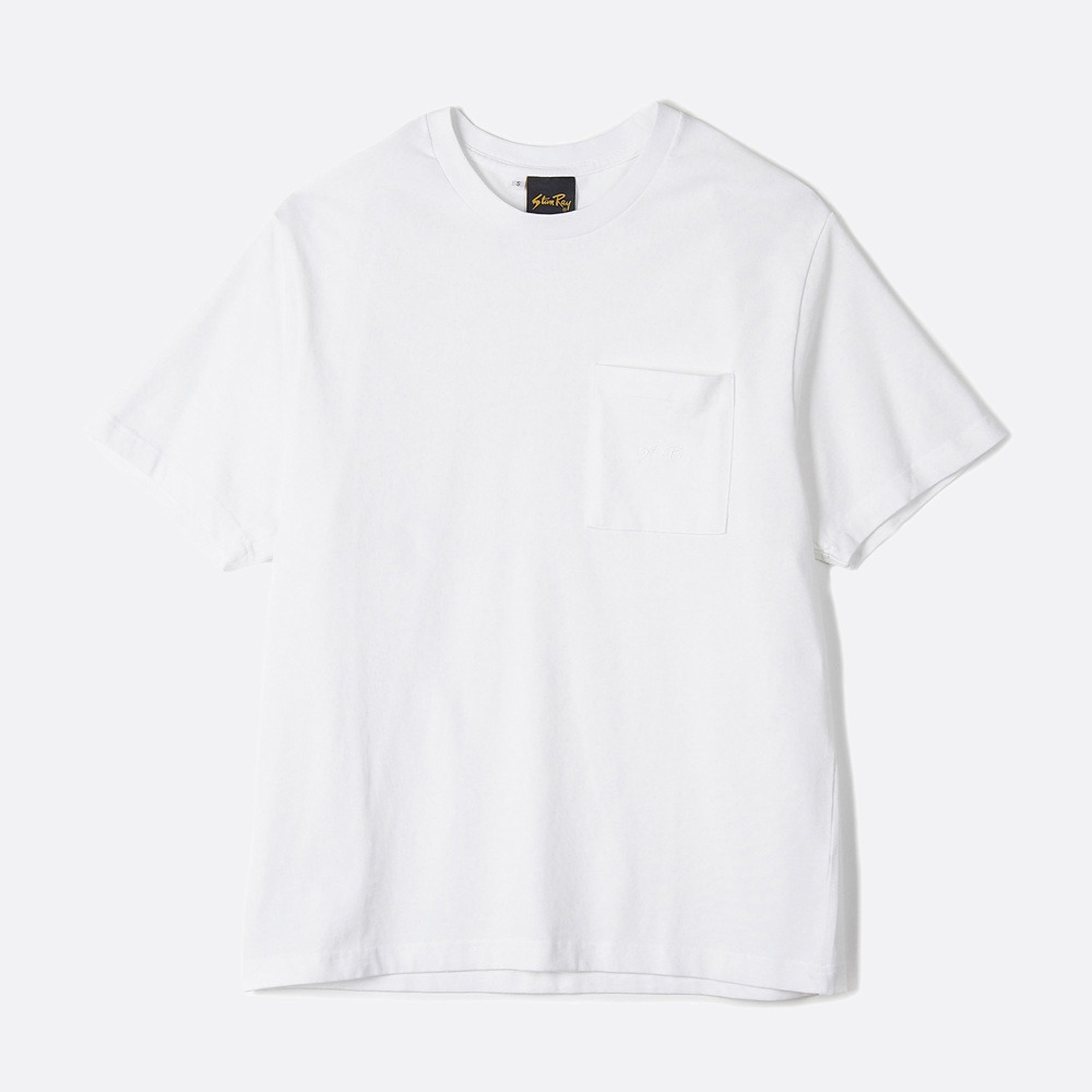 Patch Pocket T-Shirt - White