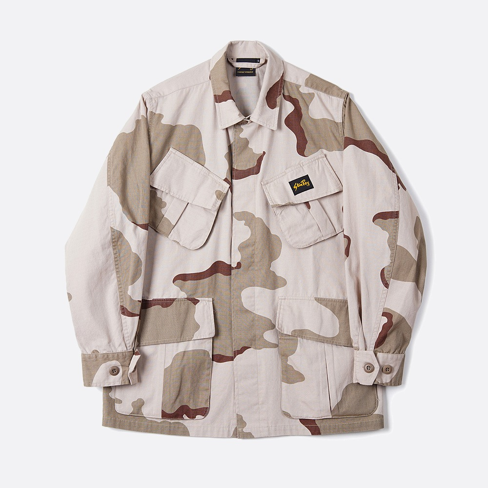 Tropical Jacket - Desert Storm Camo