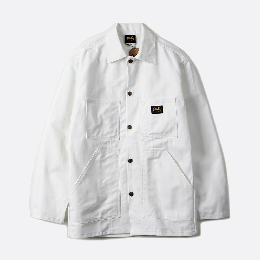 Shop Jacket - White PFD