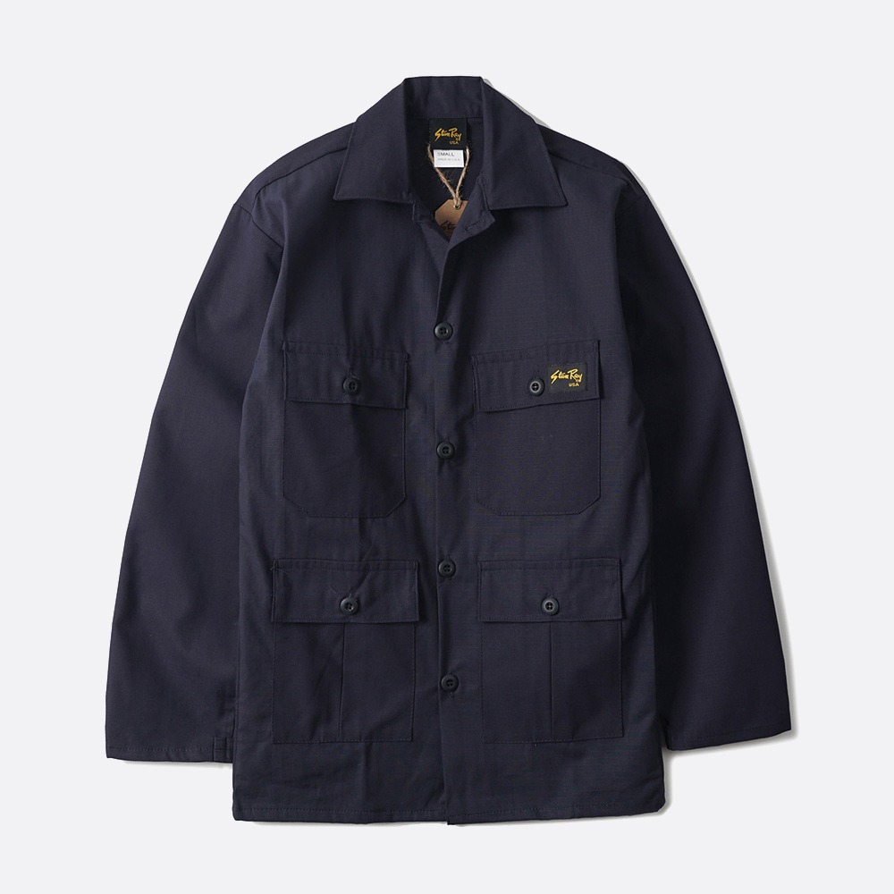 Tropical Jacket 1900J65 - Navy Ripstop
