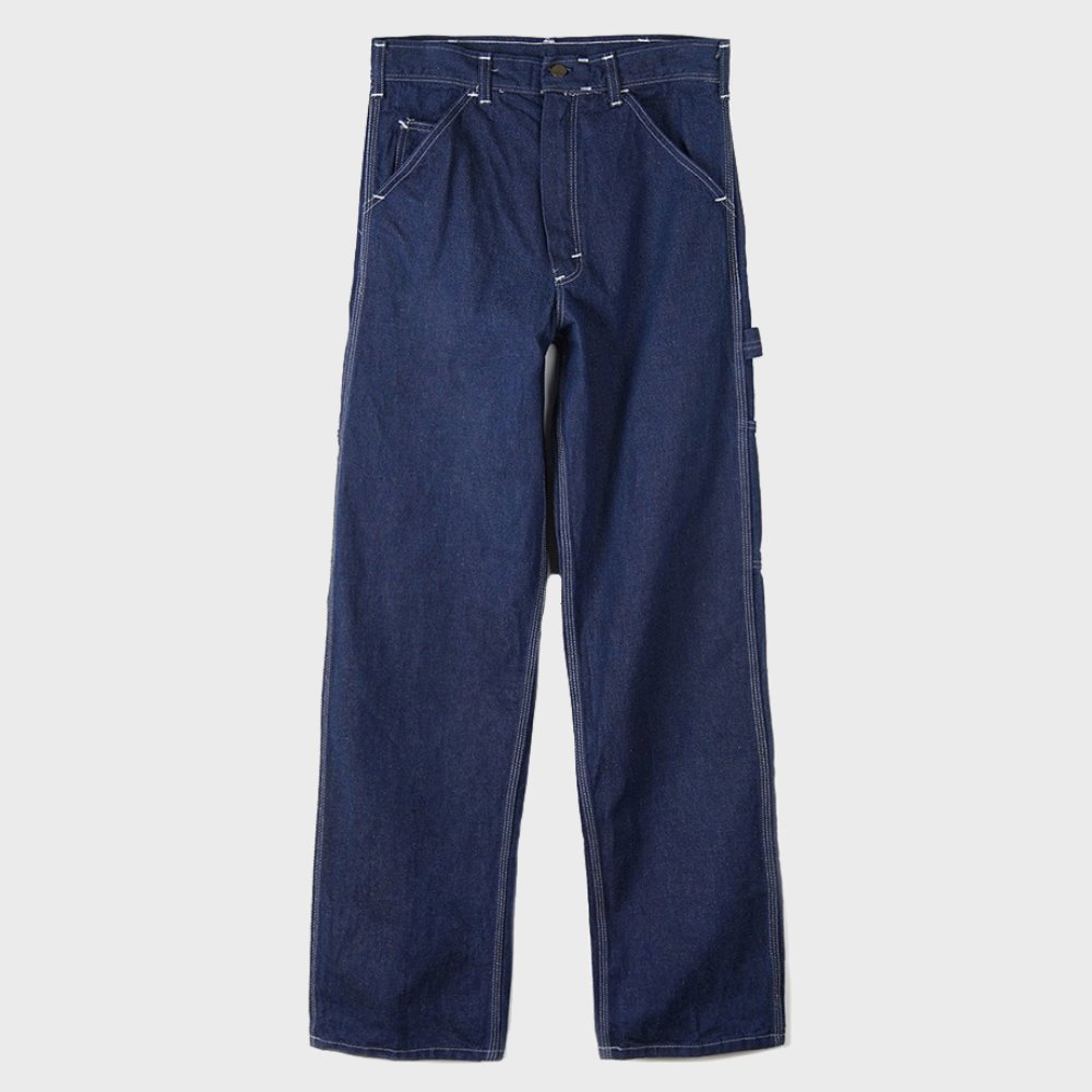 Single Knee Carpenter Pants 1255 - Denim Wash