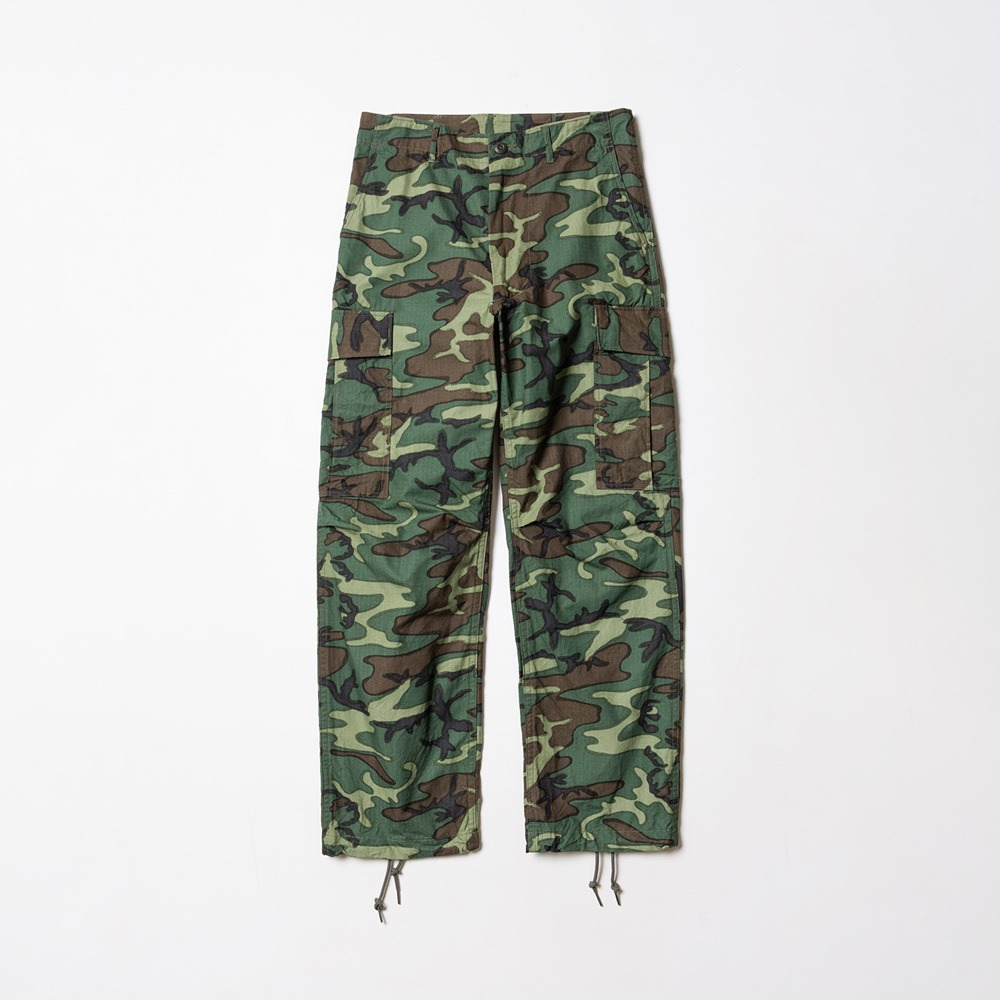 Trouser, Man's Camouflage Cotton Wind Resistant Poplin Class 2 - Camouflage