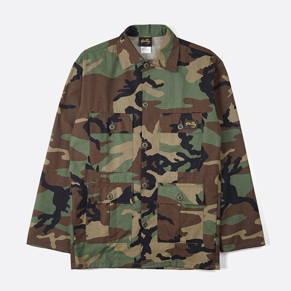 Tropical Jacket 1959J - Woodland Camo