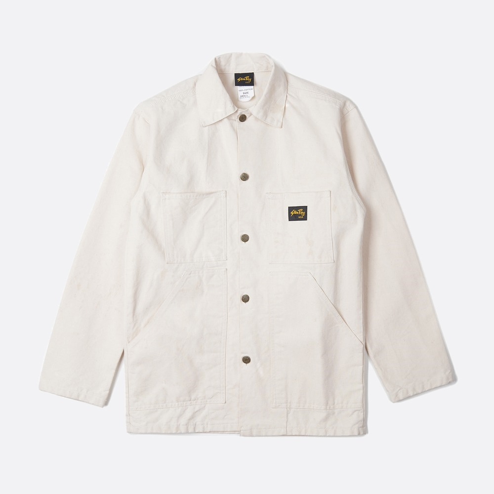 Shop Jacket - Natural drill