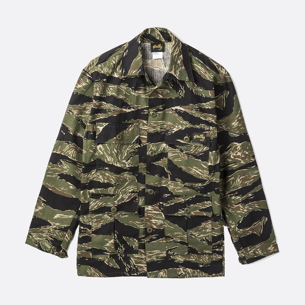 Tropical Jacket 1903J - Tiger Camo Ripstop
