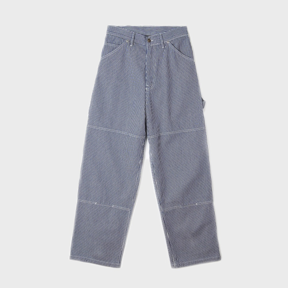 Wide Leg Painter Pant - One Wash Hickory