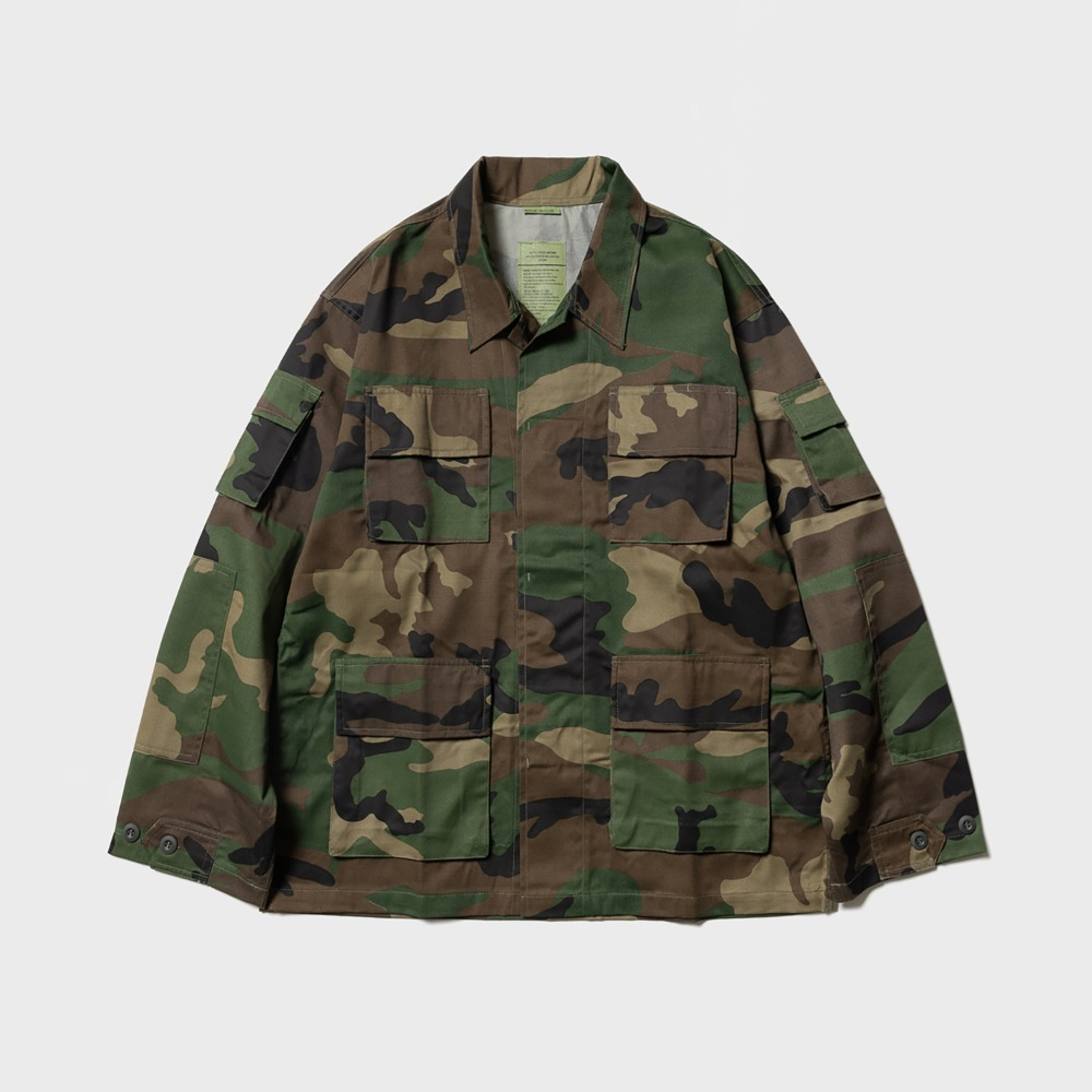 BDU Jacket - Woodland
