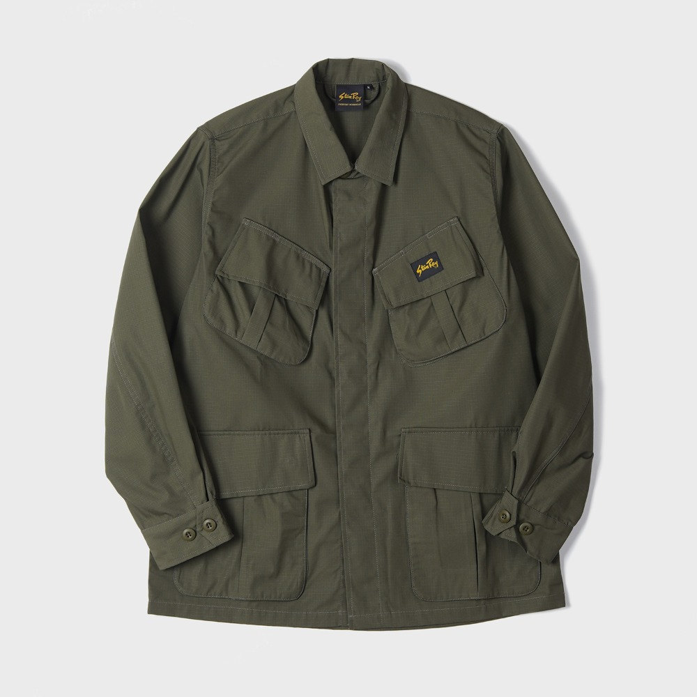 Tropical Jacket - Olive NYCO