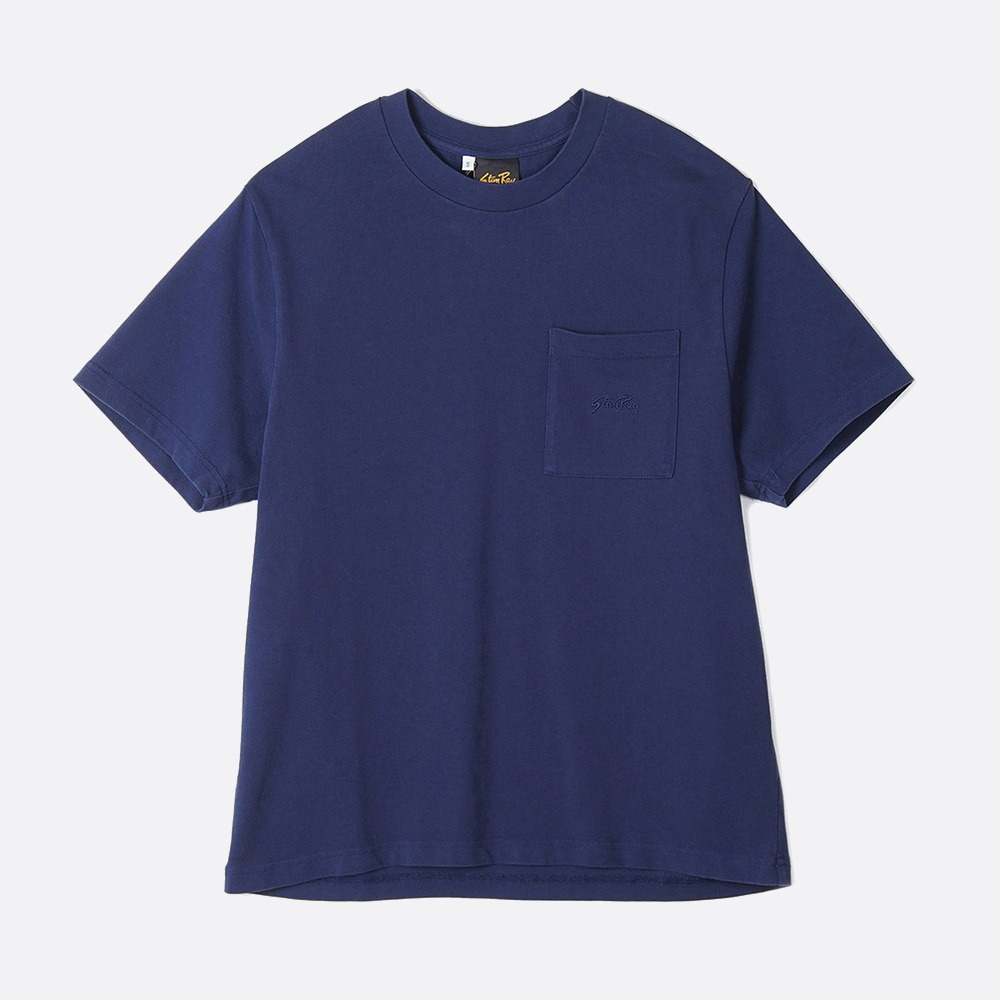 Patch Pocket T-Shirt - Navy