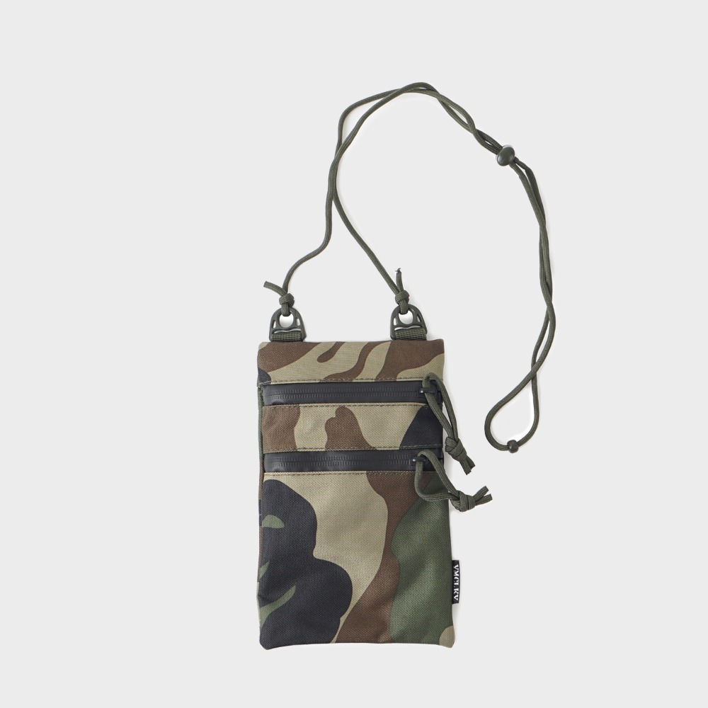 GP0185 Neck Pouch Pouch - Woodland