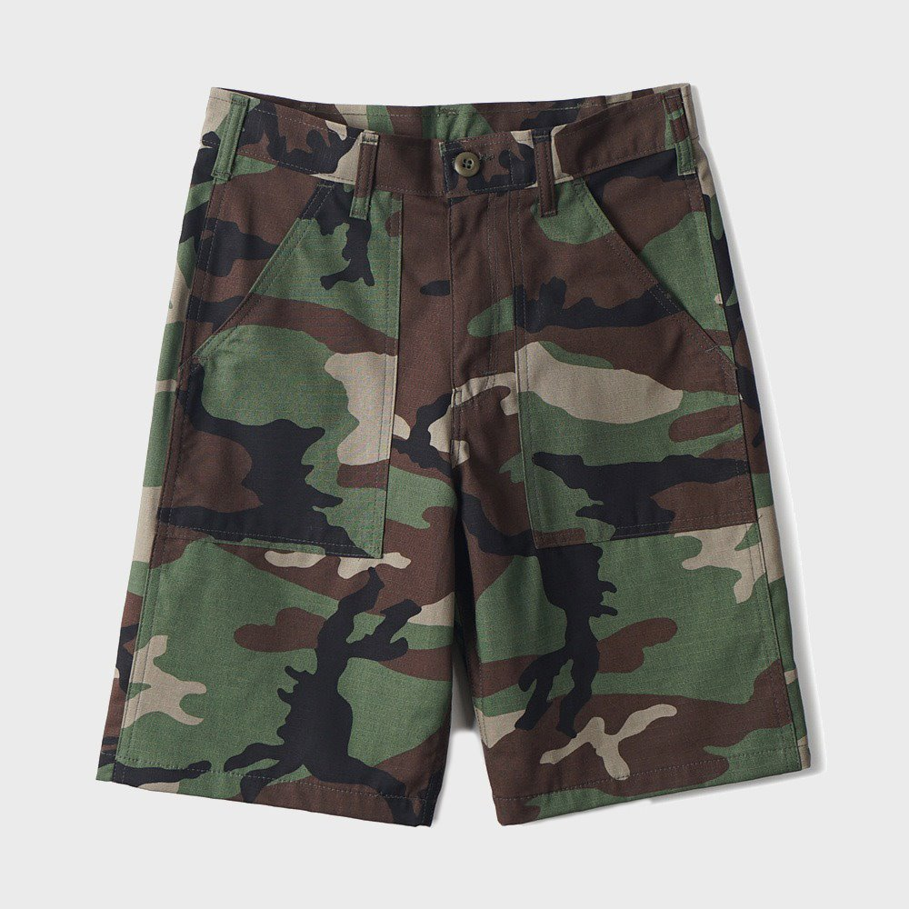 4 Pocket Fatigue Short 5559 - Woodland Ripstop