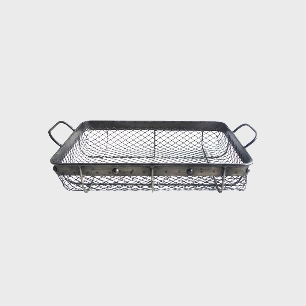 6161 Mesh Basket Small - Iron