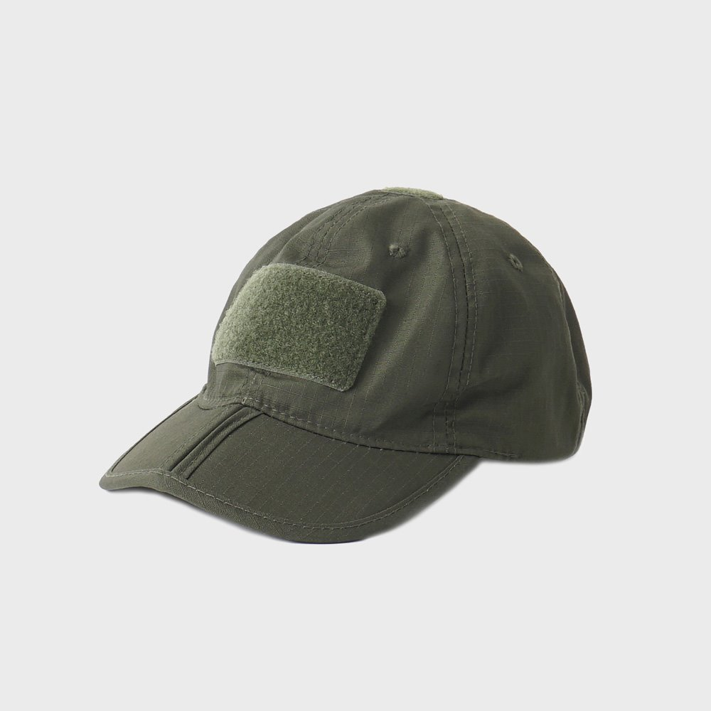 Tactical Folding Cap - Olive
