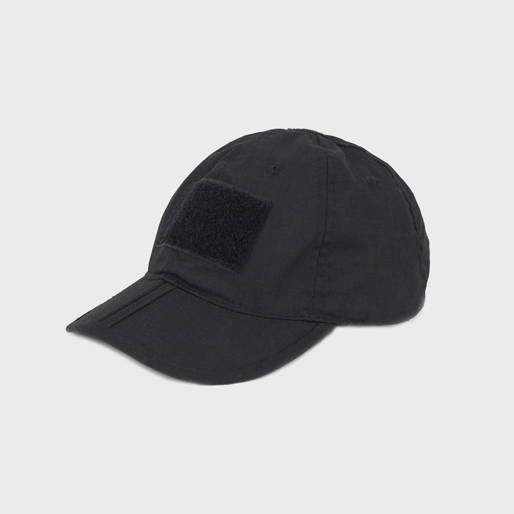 Tactical Folding Cap - Black