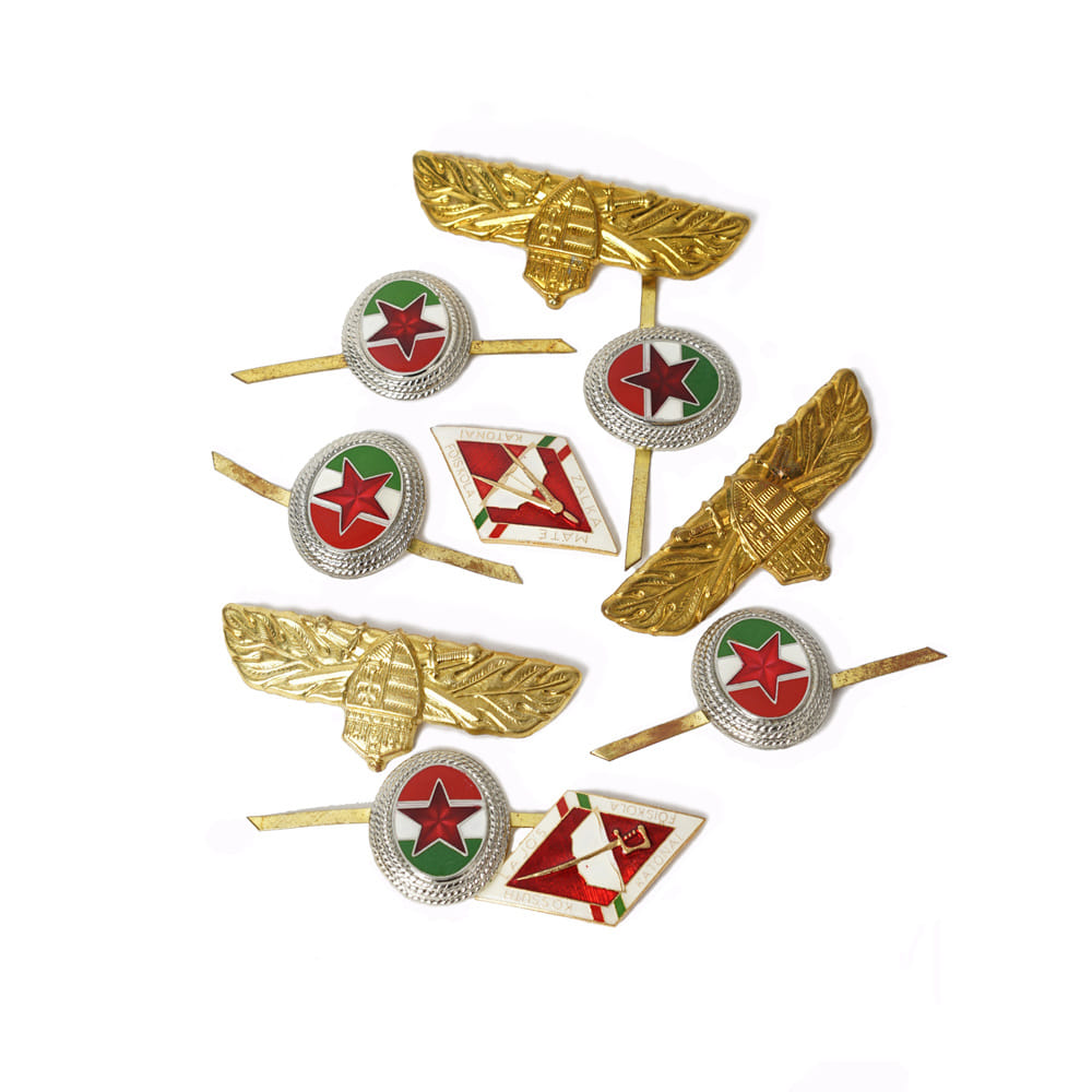 Hungary Pin Badge Set - Deadstock