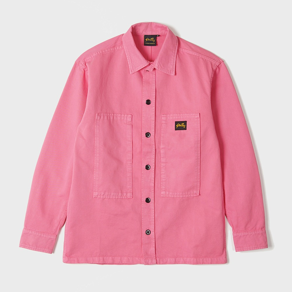 Prison Shirt - Washed Pink