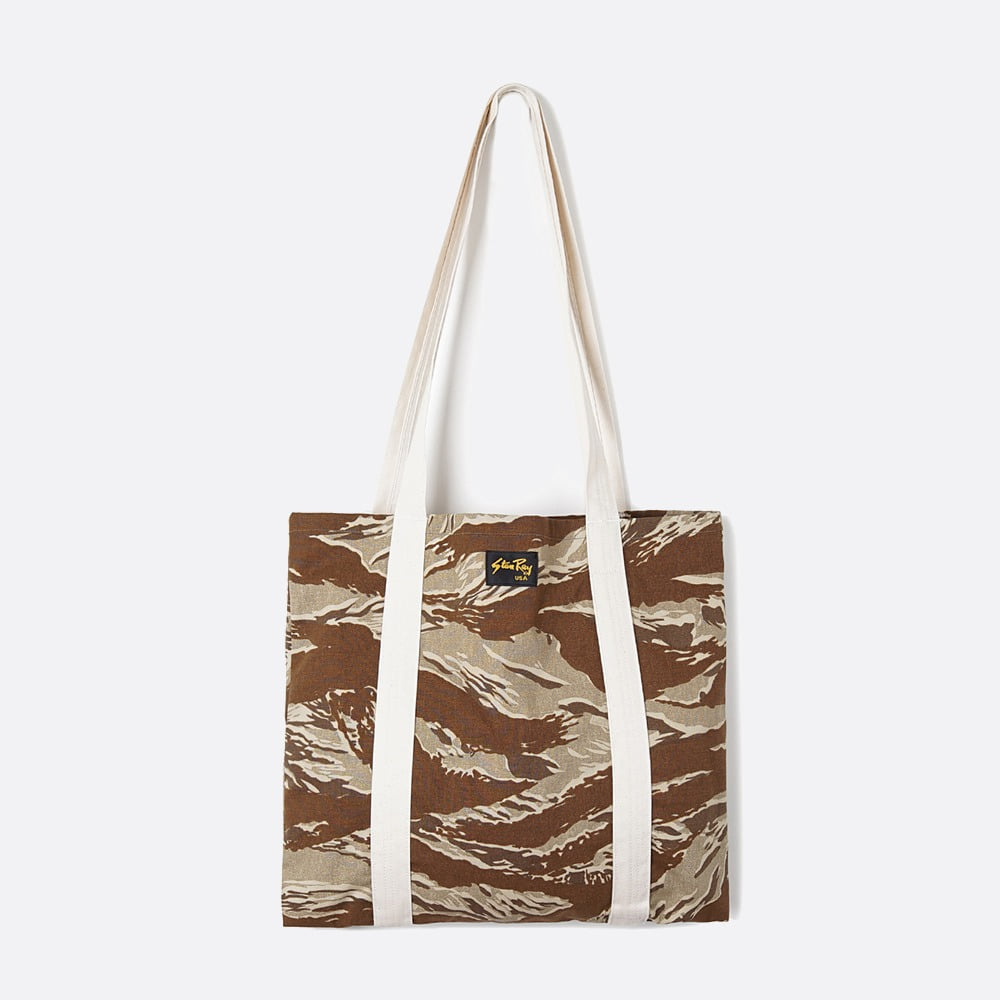 Tote Bag - Khaki Tiger