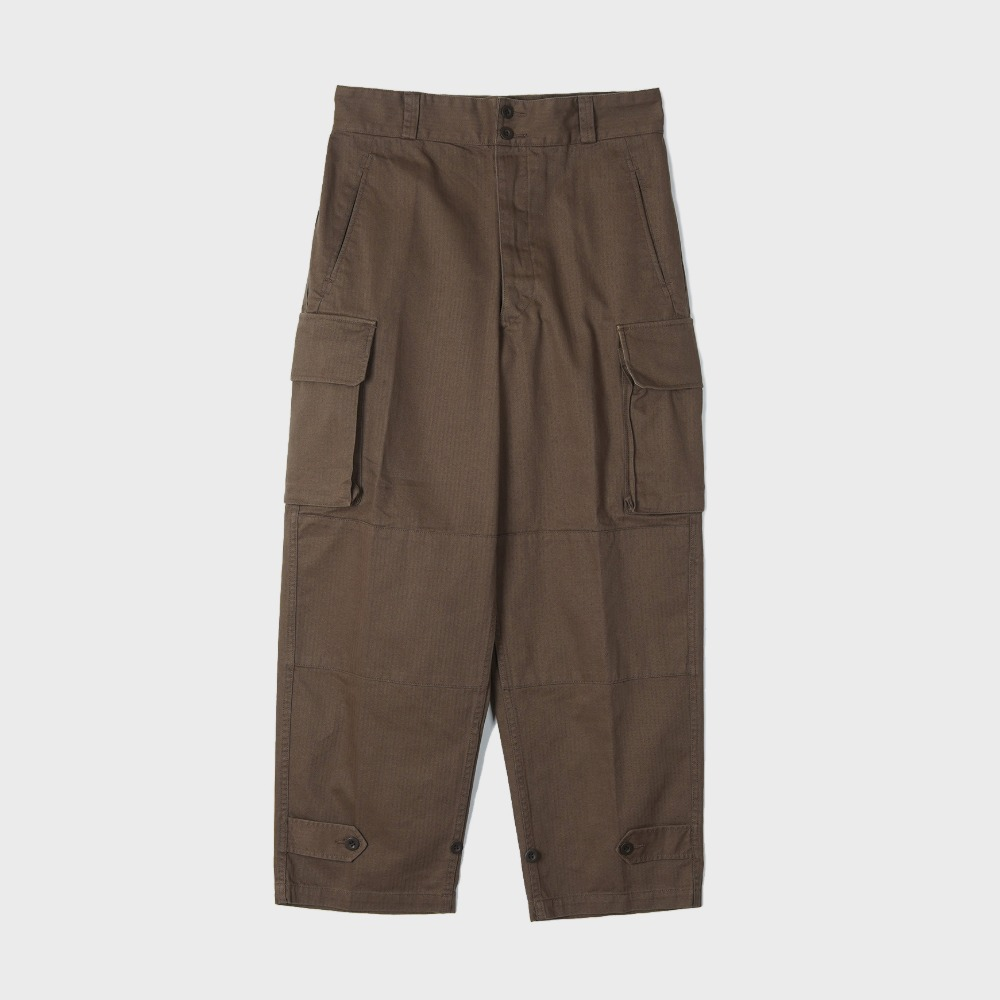 French M47 Field Pants - Brown