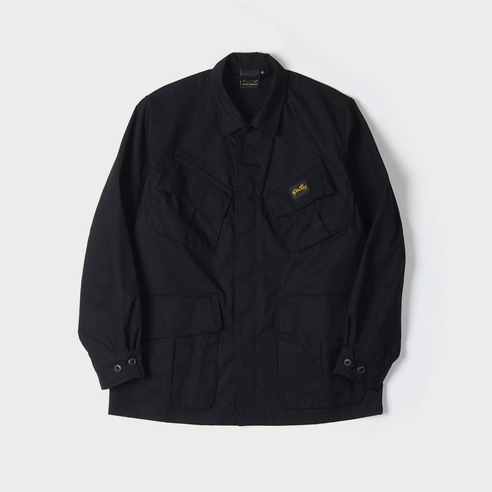 Tropical Jacket - Black NYCO