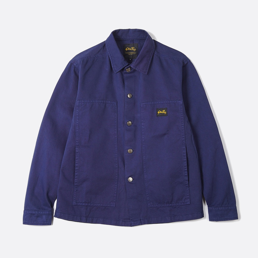 Box Jacket - Navy OD Natural