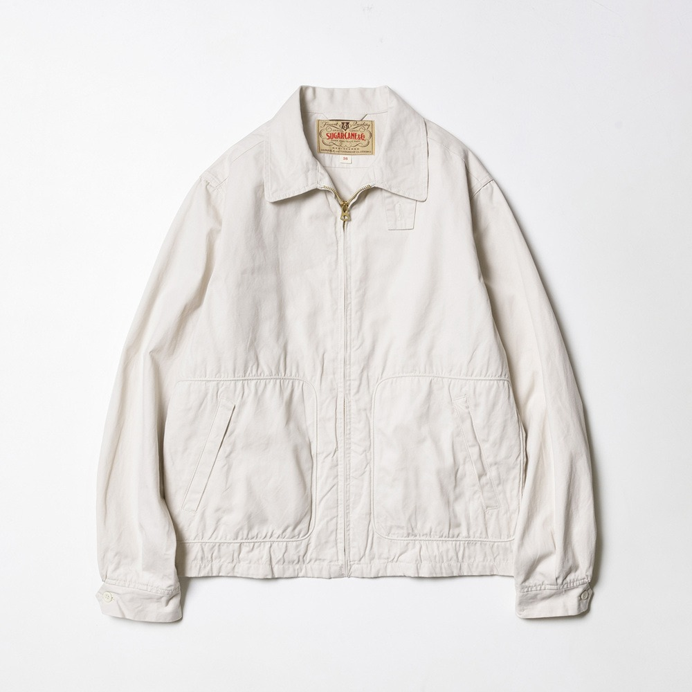 Cotton Sport Jacket - Off White